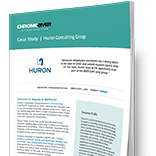 Huron Consulting Group - Case Study