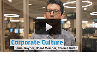 Corporate Culture: Daniel Raynor, Board Member, Chrome River