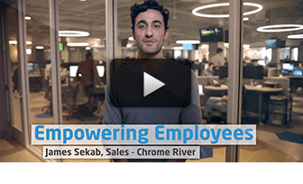 Empowering Employees: James Sekab, Chrome River