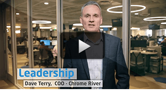 Leadership: Dave Terry, COO Chrome River