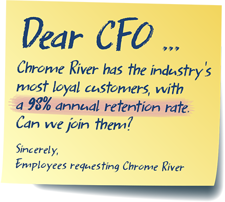 Dear CFO - Chrome River has the industry's most loyal customers