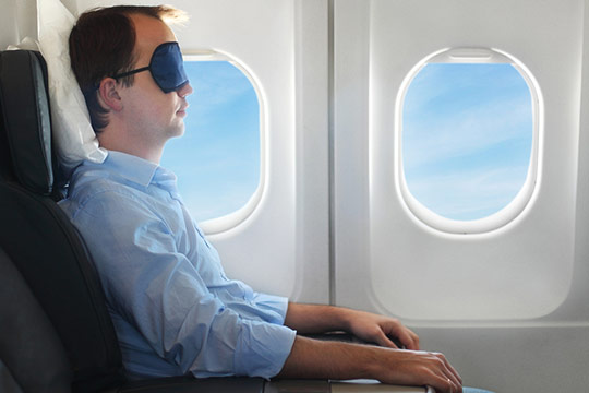 Believe It or Not – You Can Sleep on a Plane